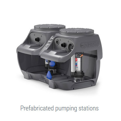 Prefabricated pumping stations